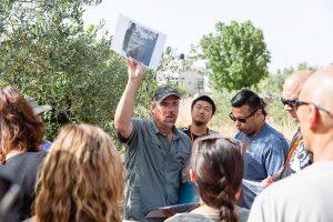 Joel teaching at Burj Beitin