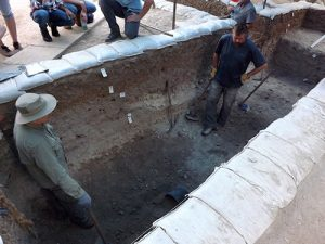 Dig at The Church of the Nativity